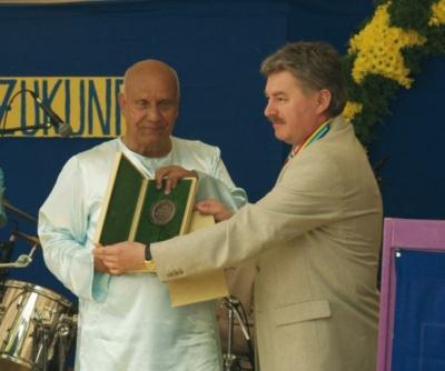 A Pro Cultura Hungarica díj átadása